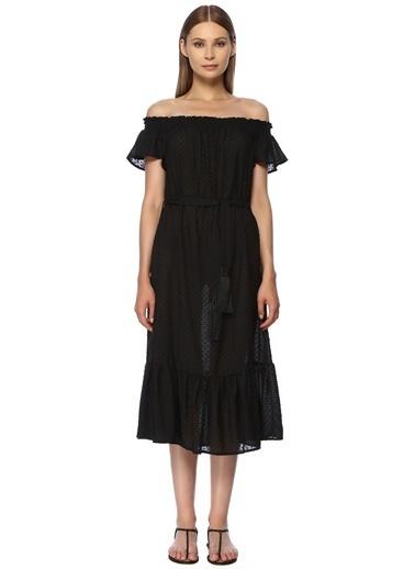NetWork Elbise Siyah